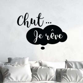 Sticker Chut je rêve