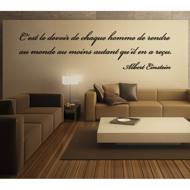 sticker citation d 39 albert einstein 2 stickers citation texte opensticker. Black Bedroom Furniture Sets. Home Design Ideas