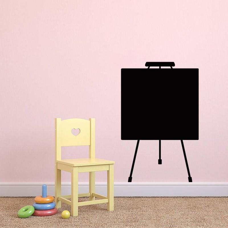 Sticker ardoise design tableau de peinture - Peinture tableau ardoise ...