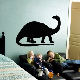 Sticker ardoise Silhouette dinosaure