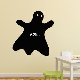 Sticker ardoise Caricature fantôme