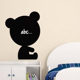 Sticker ardoise Design nounours