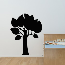 Sticker ardoise Design arbre