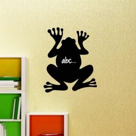 Sticker ardoise Silhouette grenouille