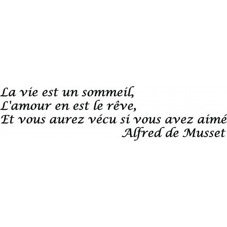 Citation Alfred de Musset