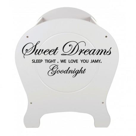 Sweet Dreams pour lit bébé