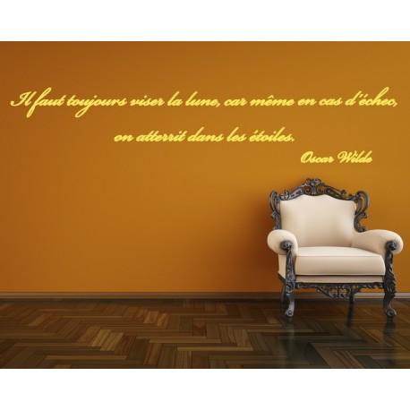 Sticker Citation d'Oscar Wilde 1   stickers citation & texte