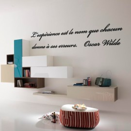 Sticker Citation d'Oscar Wilde 2