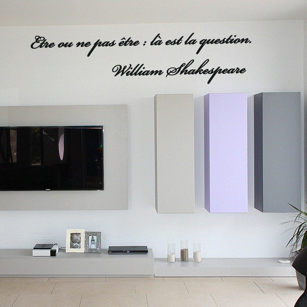 Robinet Salle De Bain Weldom ~ sticker citation de william shakespeare 1 stickers citation