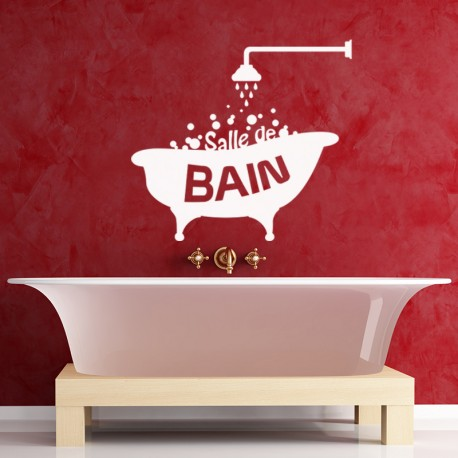 Sticker Design Salle de bain - Opensticker, boutique en ligne de stickers muraux inspirés et inspirant !