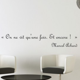 Sticker Marcel Achard Une seule vie