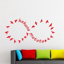 Sticker Hakuna Matata 2 - Opensticker, boutique en ligne de stickers muraux inspirés et inspirant !