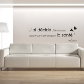 Stickers citation stickers texte stickers citations for Autocollant mural texte