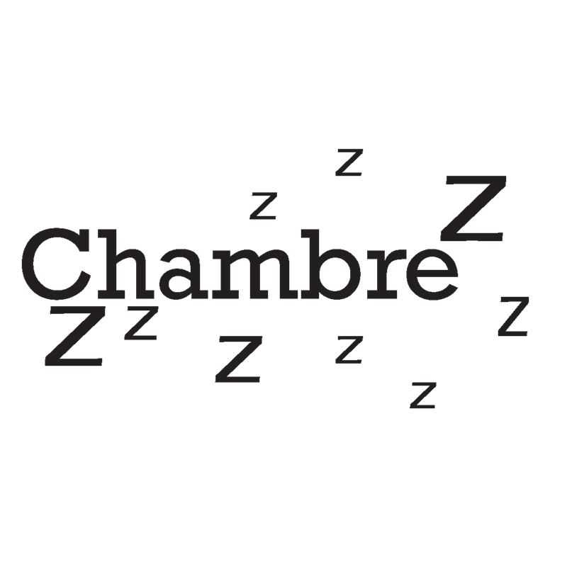 Sticker porte chambre zzz stickers citation texte opensticker - Stickers ecriture chambre ...