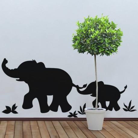 Sticker Marche d'éléphants - Opensticker, boutique en ligne de stickers muraux idéales pour garder une âme d'enfant !