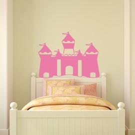 Sticker Tête de lit château de princesse - Opensticker, boutique en ligne de stickers muraux !