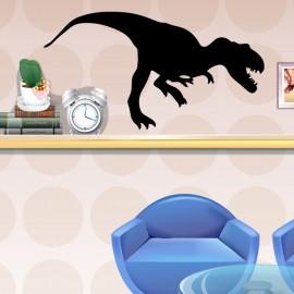 Sticker Tyrannosaure sautant