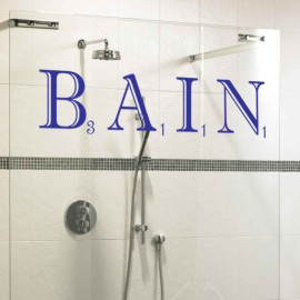Sticker Bain Scrabble
