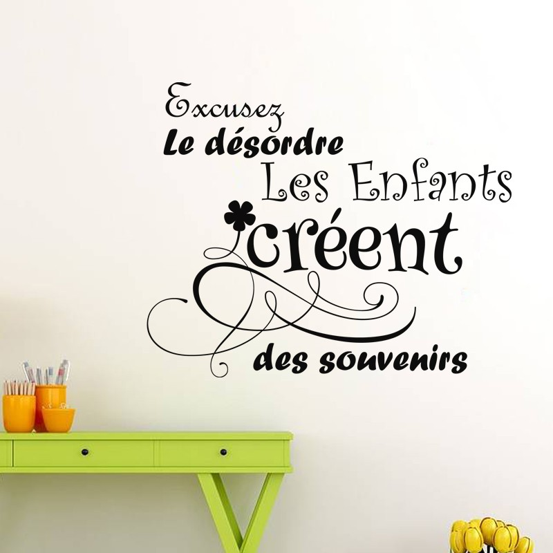 Sticker citation excusez le d sordre stickers citation - Jeux de fille cuisine et patisserie gratuit en francais ...