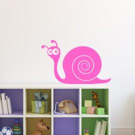 Sticker Escargot marrant-Opensticker, boutique en ligne de stickers muraux idéales pour garder une âme d'enfant !