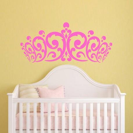 Sticker Couronne de Princesse-Opensticker, boutique en ligne de stickers muraux idéales pour garder une âme d'enfant !