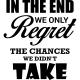 Sticker The regret