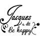 Sticker Jaques a dit ...