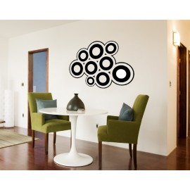 Sticker de bulles multi-formes