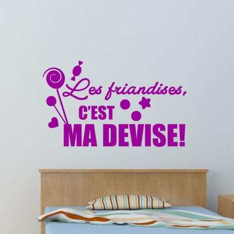 Sticker les friandises