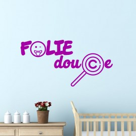 Sticker Folie douce