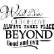 Sticker The beyond place