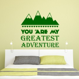 Sticker You are a greatest adventure
