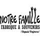 Sticker Votre famille fabrique à souvenir