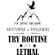 Sticker If you think adventure is dangerous