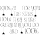 Sticker Look at for you the stars