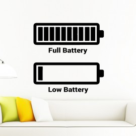 Sticker Full battery