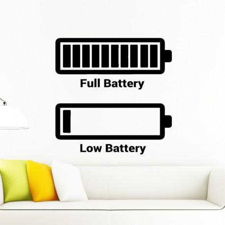 Sticker Full battery