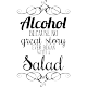 Sticker Alcohol