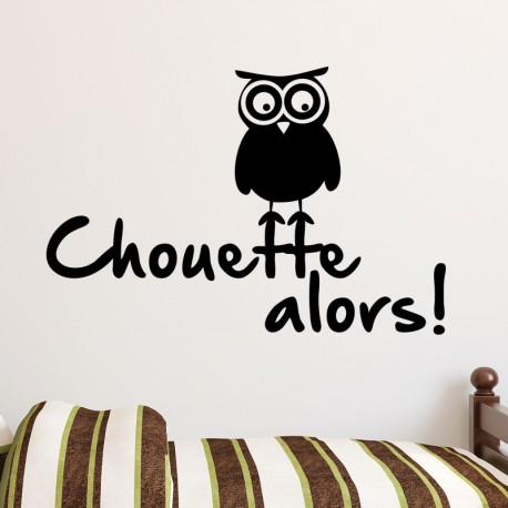 Sticker Chouette alors!