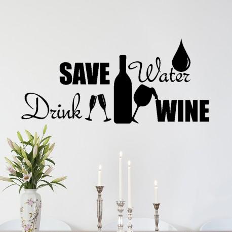 Sticker Save water