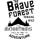 Sticker The brave forest