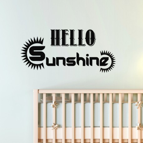 Sticker Hello sunshine