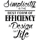Sticker Best form of efficiency 2