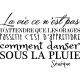 Sticker La vie