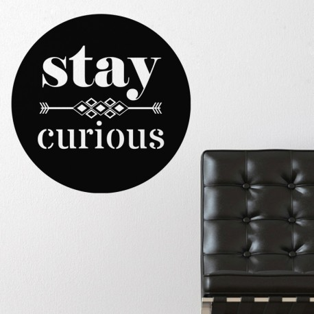 Sticker Stay curious