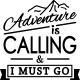Sticker Citation adventure is calling
