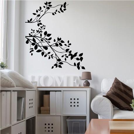 Sticker branches printanières
