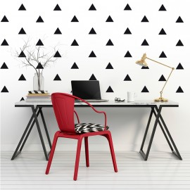 Sticker effet tapisserie triangle