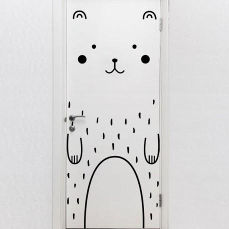 Sticker clin d'oeil sous la pluie
