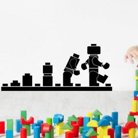 Sticker évolution robot lego